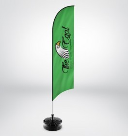 Banner, Feather & Handheld Flags